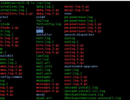 Installation et paramétrage logwatch | webdevpro.net