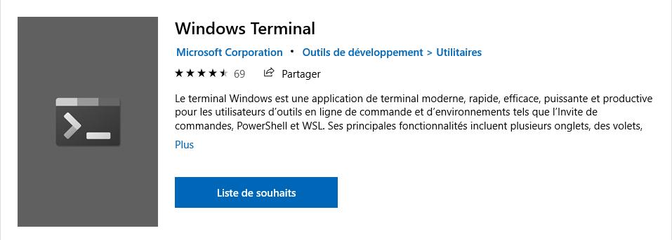 install windows terminal